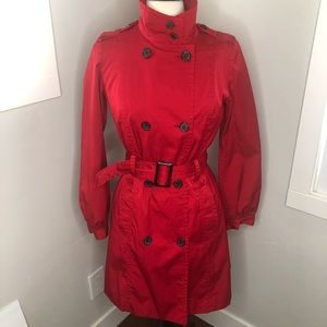 Mongo MNG suit red trench coat